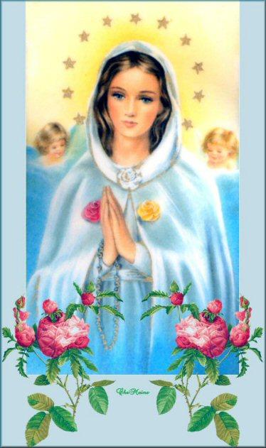 """"""" 31 Mai = 31ème Prière """" Mois de Marie offrons à notre Maman du ciel une petite couronne """" Xmarie9"""